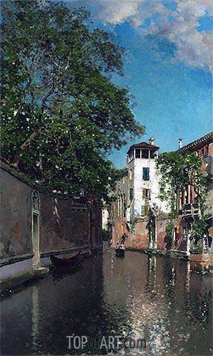 Martin Rico y Ortega | Canal in Venice, c.1880/90
