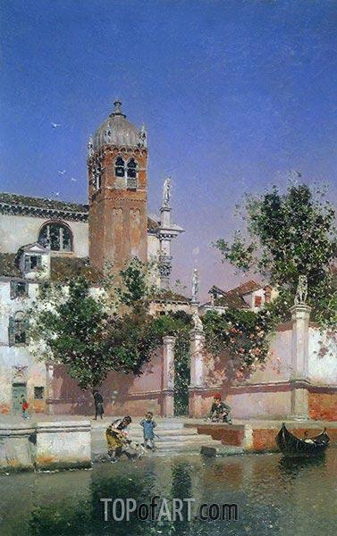 Martin Rico y Ortega | A Canal in Venice (Un canal en Venecia), c.1903