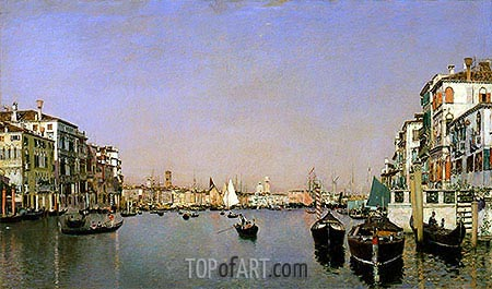 Venice, c.1874 | Martin Rico y Ortega| Painting Reproduction