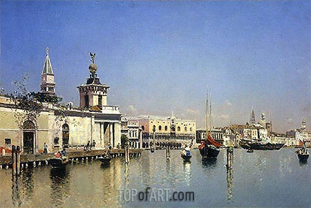 A View of Venice, undated | Martin Rico y Ortega | Painting Reproduction
