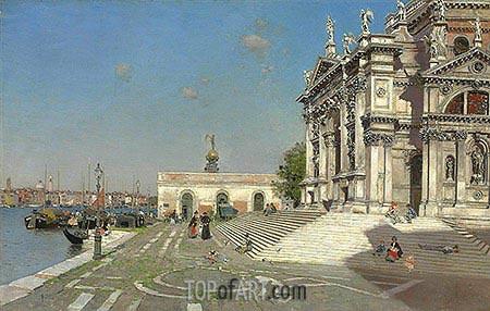 Santa Maria della Salute, Venice, undated | Martin Rico y Ortega | Gemälde Reproduktion