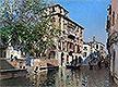 A Canal in Venice | Martin Rico y Ortega
