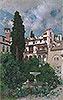 A Spanish Garden | Martin Rico y Ortega