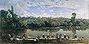 Washerwomen at the Varenne River | Martin Rico y Ortega