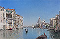 A Gondola on the Grand Canal | Martin Rico y Ortega
