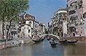 Rio San Trovaso, Venice | Martin Rico y Ortega