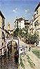 A Venetian Canal Scene | Martin Rico y Ortega