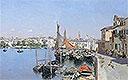 A Venetian Waterfront | Martin Rico y Ortega