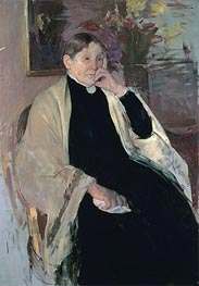 Mrs. Robert S. Cassatt (The Artist's Mother), c.1889 by Cassatt | Painting Reproduction