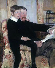 Portrait of Alexander Cassatt and His Son | Cassatt | veraltet