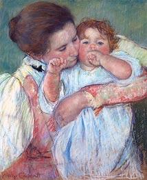 Mother and Child (Motherhood) | Cassatt | Gemälde Reproduktion