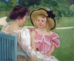 In the Garden | Cassatt | Gemälde Reproduktion
