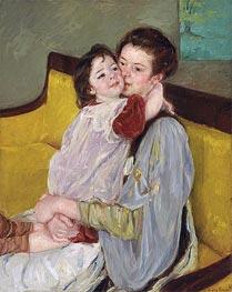 Maternal Caress | Cassatt | Gemälde Reproduktion