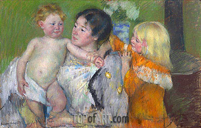 After the Bath, 1903 | Cassatt | Painting Reproduction