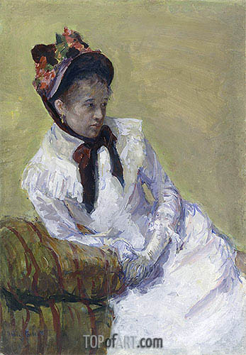 Self Portrait, 1899 | Cassatt| Painting Reproduction