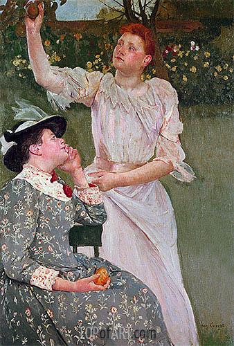 Cassatt | Women Picking Fruit, 1891