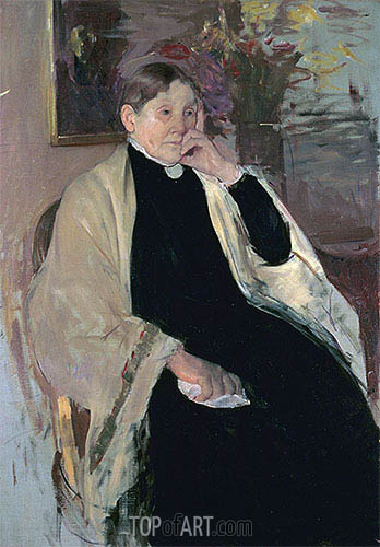 Mrs. Robert S. Cassatt (The Artist's Mother), c.1889 | Cassatt | Gemälde Reproduktion