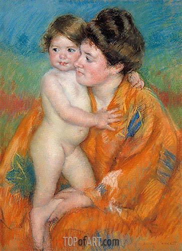 Cassatt | Woman with Baby, c.1902