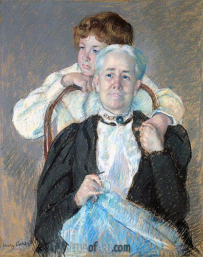 Cassatt | Portrait of Mrs. Cyrus J. Lawrence with Her Grandson, c.1898/99