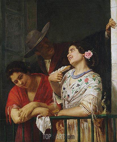 Cassatt | On the Balcony, 1873