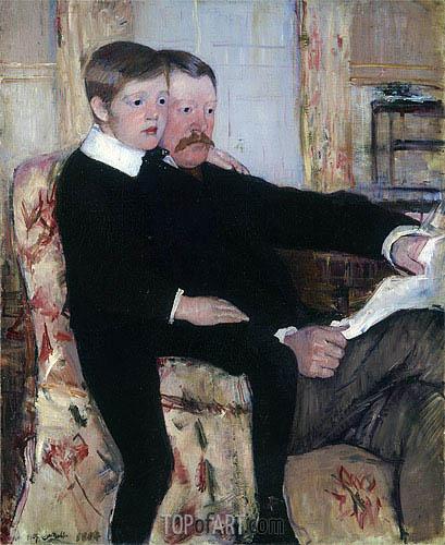 Cassatt | Portrait of Alexander Cassatt and His Son, 1884
