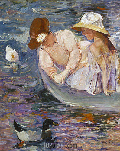 Summertime, 1894 | Cassatt | Painting Reproduction