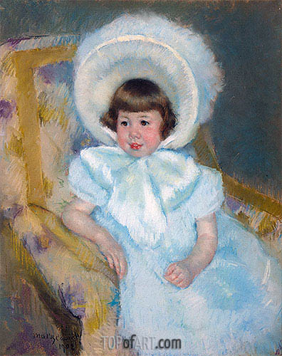 Portrait of Mademoiselle Louise-Aurore Villeboeuf, 1902 | Cassatt| Painting Reproduction