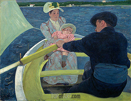 The Boating Party, c.1893/94 | Cassatt| Painting Reproduction