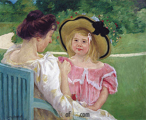 In the Garden, c.1903/04 | Cassatt | Painting Reproduction
