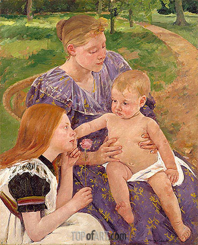 The Family, 1893 | Cassatt | Painting Reproduction