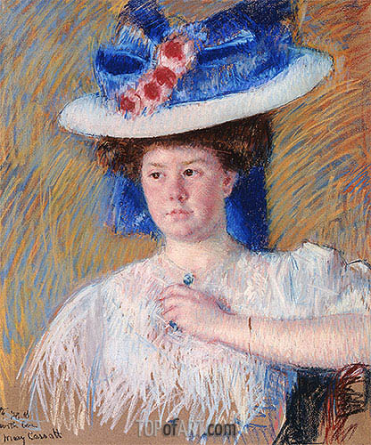 Portrait of Helen Sears, 1907 | Cassatt| Painting Reproduction