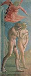 Adam and Eve Banished from Paradise, c.1427 by Masaccio | Painting Reproduction