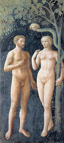 Masolino da Panicale | The Temptation of Adam and Eve, c.1427