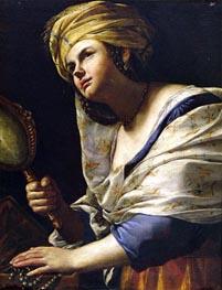 Vanity, c.1650/70 by Mattia Preti | Painting Reproduction