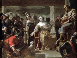 The Queen of Sheba before Solomon | Mattia Preti | Painting Reproduction