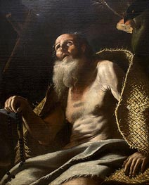 St. Paul the Hermit | Mattia Preti | Painting Reproduction