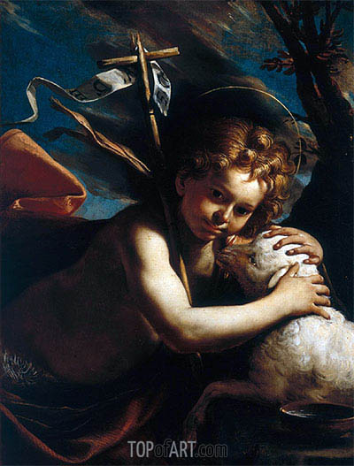 Young St. John the Baptist by Mattia Preti