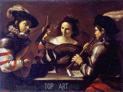 Mattia Preti | Concert, c.1630