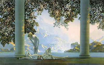 Maxfield Parrish | Daybreak, 1922
