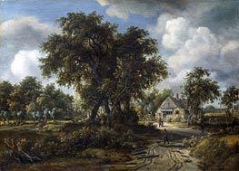 A Woody Landscape | Meindert Hobbema | outdated