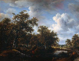 Landscape with Angler | Meindert Hobbema | outdated