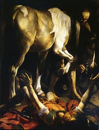 The Conversion of Saint Paul | Caravaggio | Painting Reproduction