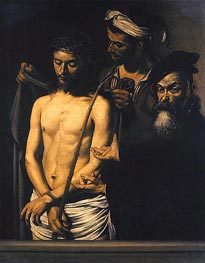 Ecce Homo, 1605 by Caravaggio | Painting Reproduction