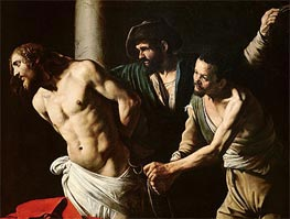 The Flagellation of Christ, c.1605/07 by Caravaggio | Painting Reproduction