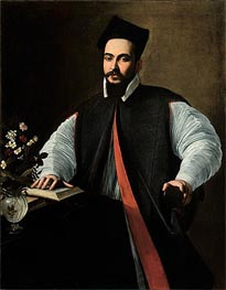 Portrait of Maffeo Barberini, undated by Caravaggio | Painting Reproduction