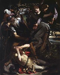 The Conversion of St. Paul, c.1600/01 by Caravaggio | Painting Reproduction
