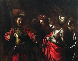 Martyrdom of St. Ursula, c.1609/10 by Caravaggio | Painting Reproduction