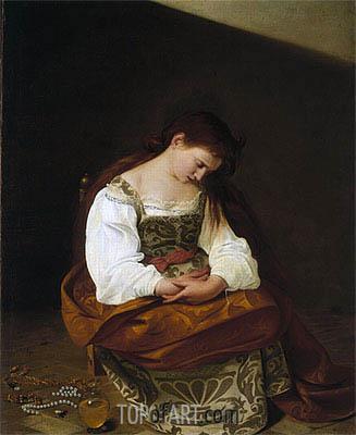 Caravaggio | Penitent Magdalen, c.1598