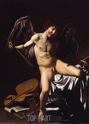 Caravaggio | Amor Victorious (Cupid), 1602