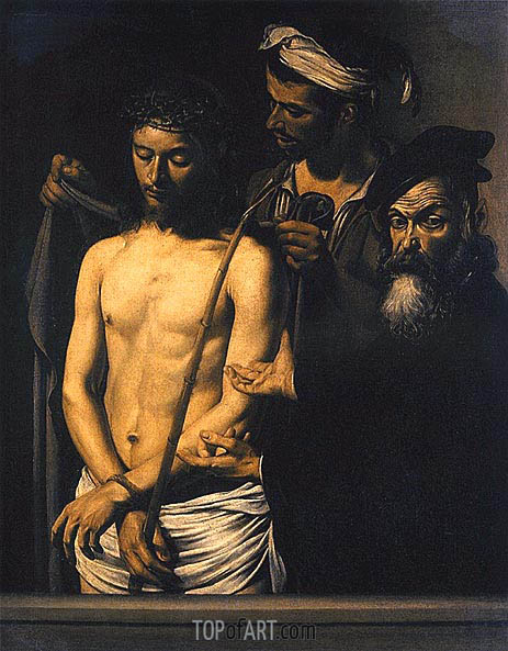 Ecce Homo, 1605 | Caravaggio| Painting Reproduction